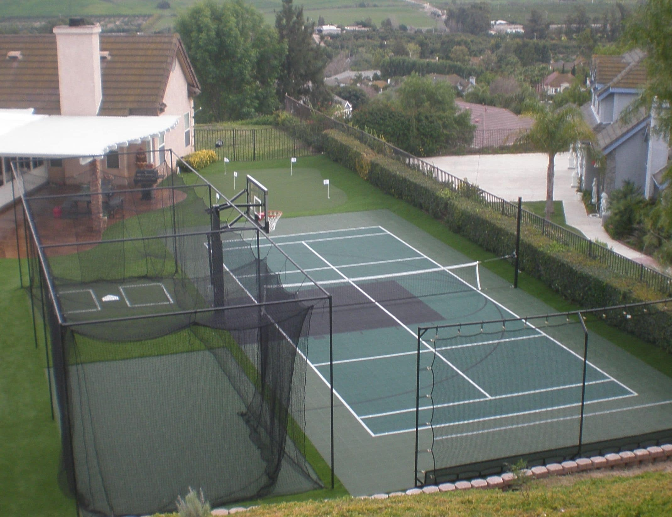 Our Backyard Courts And Surfaces Are Versatile And Come In So Many  Different Color Options. We Design All Game Courts For Optimal Performance  That Is Easier ...