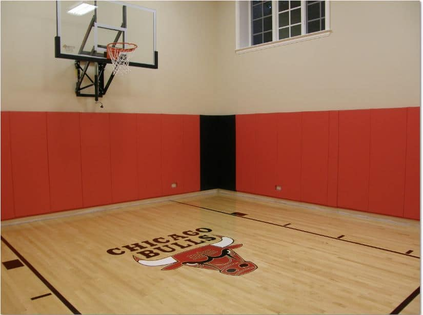 Chicago Bulls Indoor Home Gym