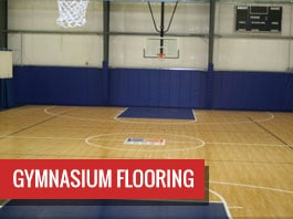 Image Of Indoor Home Gym Flooring In MA - Sport Court New England